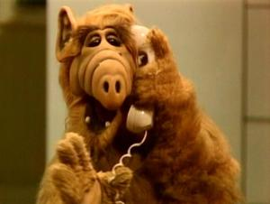 Who doesn\'t love Alf?  You don\'t?  Well you suck!
