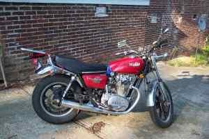 a 1979 Yamaha