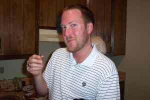 Walker loves bacon . . . can you blame him?  No, you cannot.