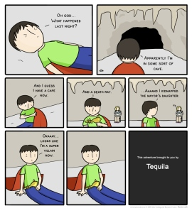 Oh tequila the things you make us do