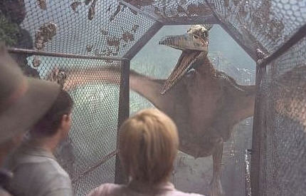 """""""Behold my amazing wingspan and razor sharp death beak.  I will beak the fuck out of you Grant!"""""""