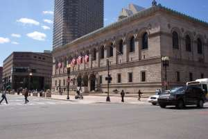 The Boston Public Library