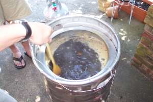 The Stout is boiling