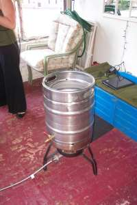 Something delightful in using a keg for brewing