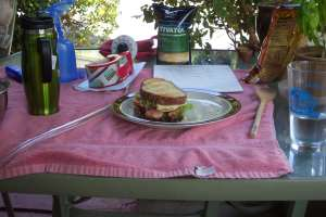 A delicious BLT for lunch