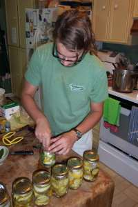 Packing pickles