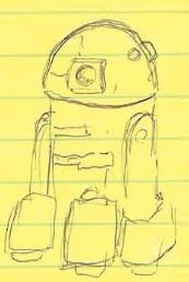 R2-D2 doodle