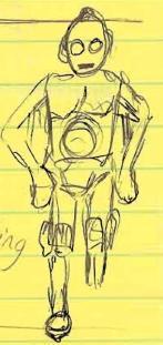 C-3PO Doodle